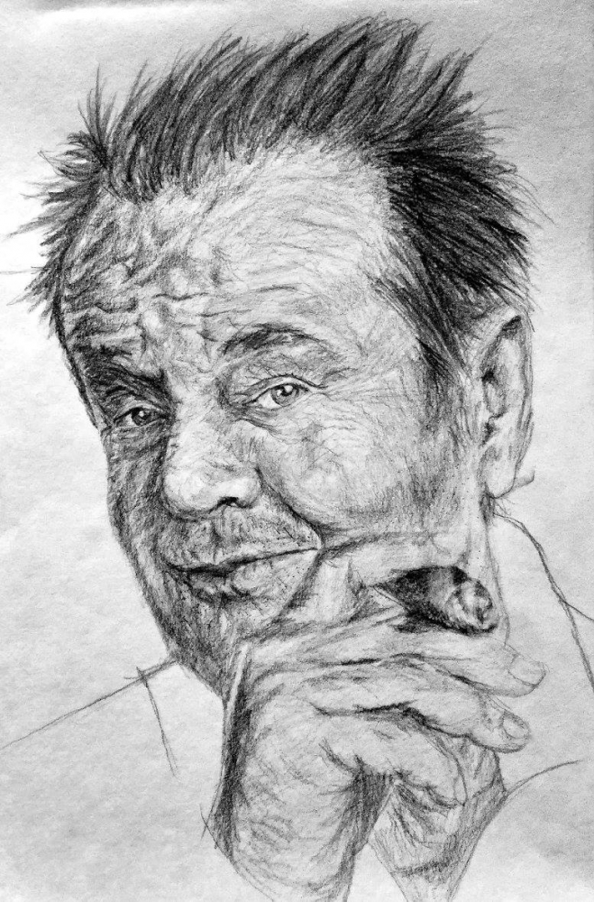 Jack Nicholson por linshyhchyang
